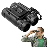 APEXEL 8x21 HD High Powered Professional Binoculars with Light Weight and Compact Folding Binoculars for Adults and Kids in Bird Watching Travel Stargazing Hunting Concerts Sports