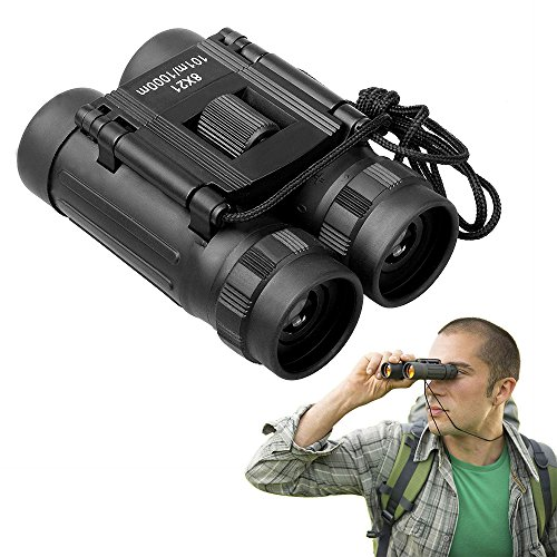 APEXEL 8x21 HD High Powered Professional Binoculars with Light Weight and Compact Folding Binoculars for Adults and Kids in Bird Watching Travel Stargazing Hunting Concerts Sports by APEXEL