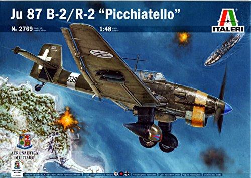 ITA2769 1:48 Italeri Ju 87B-2/R-2 Stuka 'Picchiatello' [MODEL BUILDING KIT]