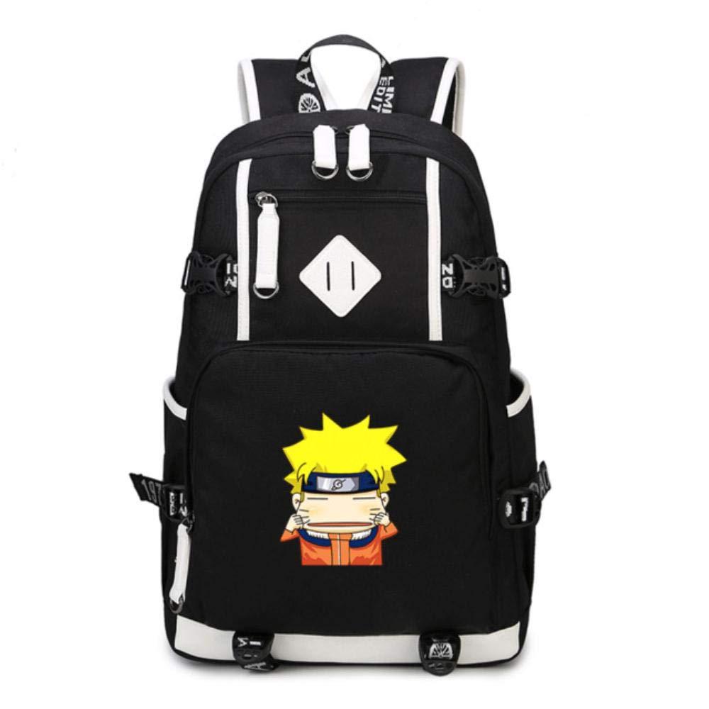 5895e5f69e Studente Zaino da Viaggio Viaggio Viaggio per Esterni Zaino per Notebook da  Scuola per Bambini Naruto Anime Cosplay Daypack cf1f7d