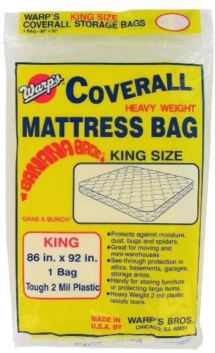 Warps CB-86 86'' X 92'' Large Mattress Storage Bag by Warp's