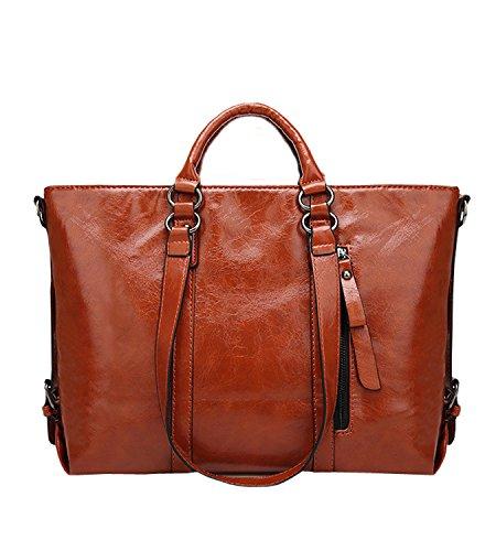 365-Shopping - Bolso de asas de Otra Piel para mujer marrón