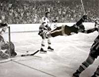 Boston Bruins Bobby Orr 8x10 Photo of The Stanley Cup Game Winning Goal, 1970