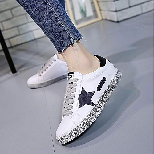 Caminar Zapatos luz Plano Primeros andadores Paillette Zapatillas tacón Black Suelas de Mujer PU Poliuretano Comodidad Primavera ZHZNVX Verano de de Canvas de Zapatos de U4ZPxd
