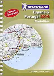 Mini-Atlas España. Portugal Atlas de carreteras Michelin: Amazon.es: Vv.Aa.: Libros