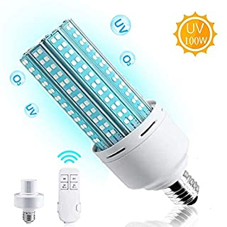 Light Bulb with Base with Remote Control, 100W E26, E27 Led Lamp, Suitable for Home, Restaurant,Office, Warehouse, Supermarket Light Bulb