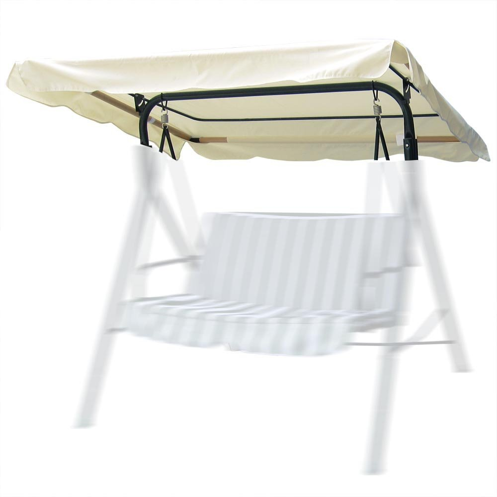 Brand New Replacement Swing Set Canopy Cover Top – Choose 66 x45 , Beige