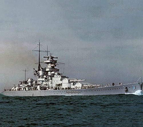 Modèle Battlecruiser Militaire, 1/1250 Battleship Modèle Scharnhorst, Allemagne, Adulte Collectibles et Cadeaux Jzx-n