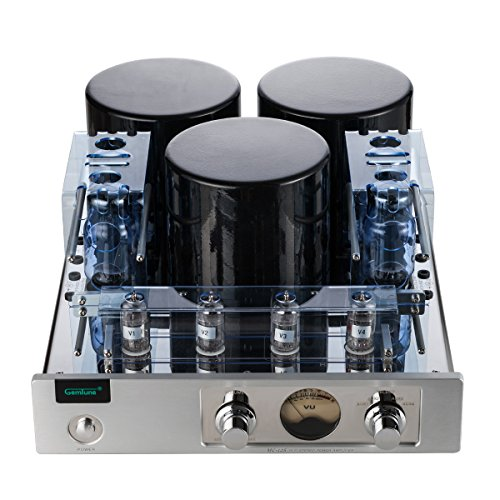 Gemtune MC-13S EL34 (6CA7) 4 Vacuum Tube Integrated Push-Pull Amplifier (With Protect Cover) Gemtune