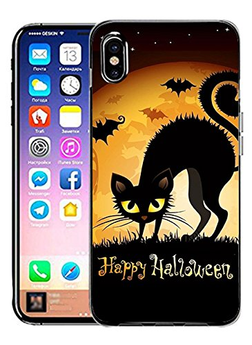 iPhone X Back Cover Protector Case Happy -