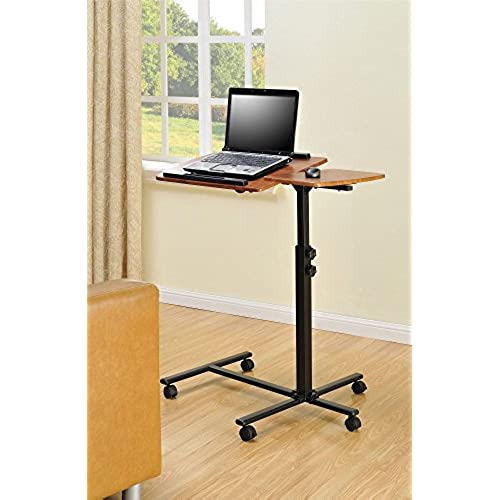 Ameriwood Home Jacob Laptop Cart (Cherry/Black)