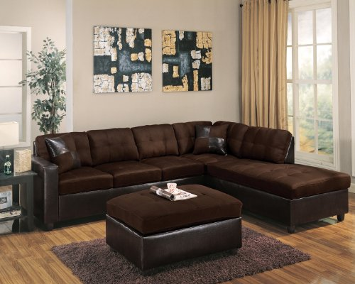 Outstanding Acme Furniture Sectional Living Room Sets Nearby Calhoun Pabps2019 Chair Design Images Pabps2019Com