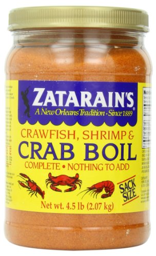 Zatarain's Pre-Seasoned Crab & Shrimp Boil, 4.5 lb each- (Pack of 3)