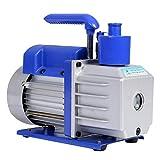 HFS R Vacuum Pump Single Stage 3CFM ; 110V/60HZ ; Inlet: SAE 1/4''; Ultimate Vacuum: 5PA, 1/4 HP;