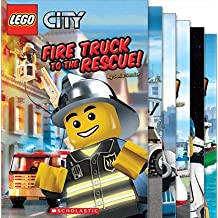 Lego City Reader Mega Pack (6 Books) (Includes: Ready For Takeoff; 3, 2, 1, Liftoff!; Calling All Cars!; All Aboard!; Fire Truck to the Rescue!; All Hands On Deck!)