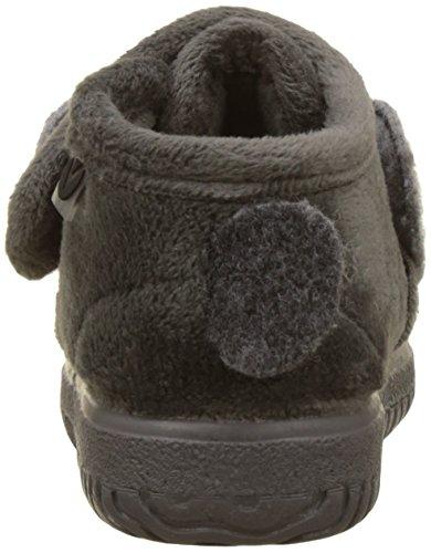 victoria Unisex Baby Bota Velcro Animales Flache Hausschuhe Grau (Gris)