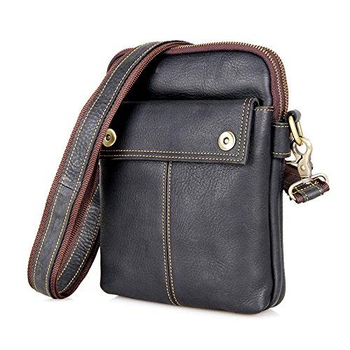 Jellybean Handgefertigt Leder, Brust Tasche,Riemen Tasche,Schule,Wandern Reisetasche,Schultertasche