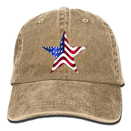 Cowboy Women for Skull Men DEFFWB Cap Hats Us Denim Cowgirl Sport Hat Flag wC4nT