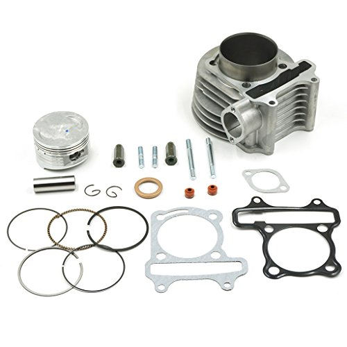 Glixal ATMT1-023 High Performance GY6 61mm 170cc Big Bore Rebuild Cylinder Kit For 152QMI 157QMJ Engine Chinese Scooter Moped ATV