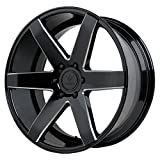 Verde Custom Wheels V24 Invictus Gloss Black Wheel (20x9''/6x5.5'')