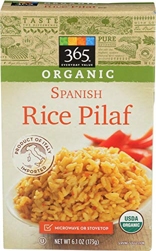 365 Everyday Value, Organic Rice Pilaf, Spanish Style, 6.1 oz (Best Mexican Rice Mix)