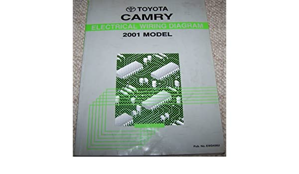2001 toyota camry electrical wiring diagram manual: toyota motor corp:  amazon com: books