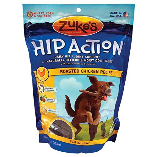 Zuke`s Hip Action Dog Treat Chicken 1lb