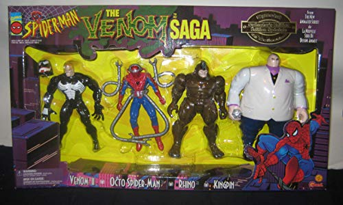Spider-Man - The Animated Series: The Venom Saga Special Collector's Edition box set (includes Black Costume Spider-Man, Octo Spider-Man, Kingpin and Venom Unmasked) (1996)