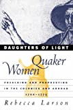 Daughters of Light, Rebecca Larson, 0807848972