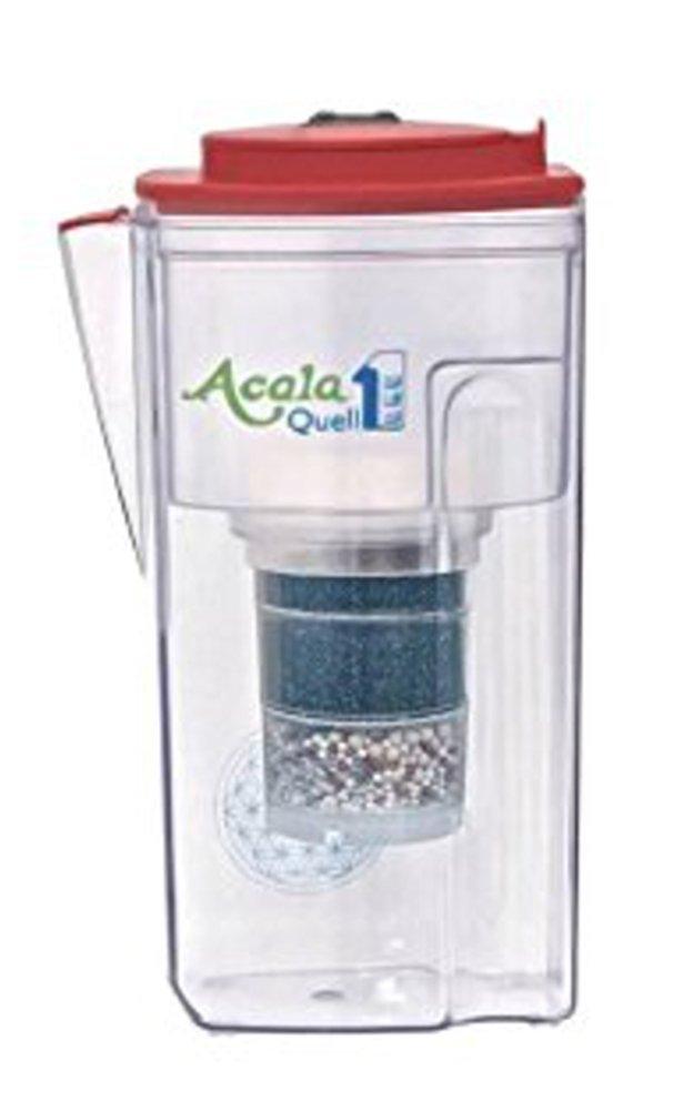Acala Quell One Himbeere - Aktivkohle Wasserfilter mit höchster Filterleistung | Kreiert köstlich schmeckendes, wohltuendes Wasser Acala GmbH
