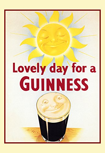 - Guinness Poster, Lovely Day for a Guinness, Sun