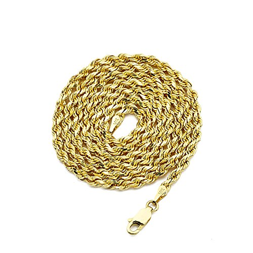 LOVEBLING 10K Yellow Gold 3mm 20