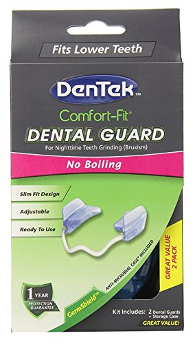 DenTek Comfort-Fit Nightguard One Size Fits All 1 Each (Pack of 3) by DenTek