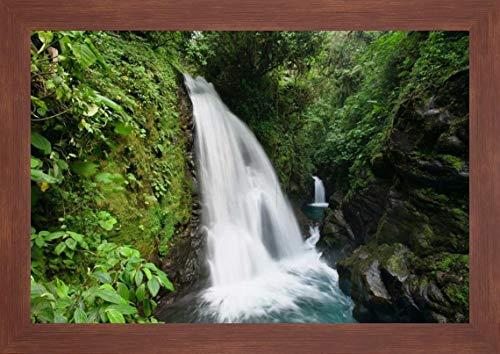 (La Paz Waterfalls in Rainforest, Costa Rica by Konrad Wothe - 17