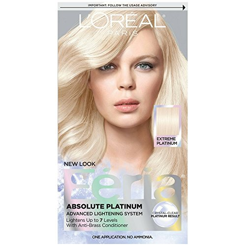 L'Oreal Feria Absolute Platinums Hair Color, Extreme Platinum 1 ea (Pack of 12) by L'Oreal Paris