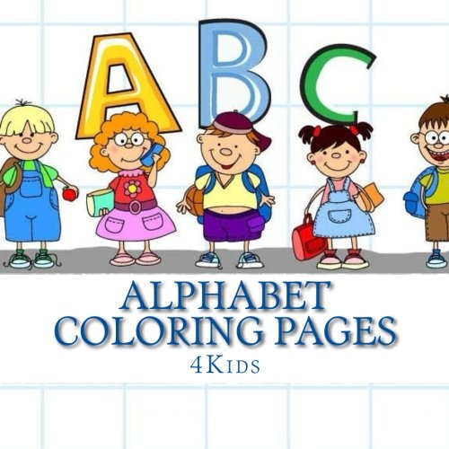 Alphabet Coloring Pages 4Kids product image