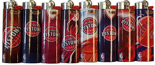 Lighters Detroit Pistons Officially Licensed