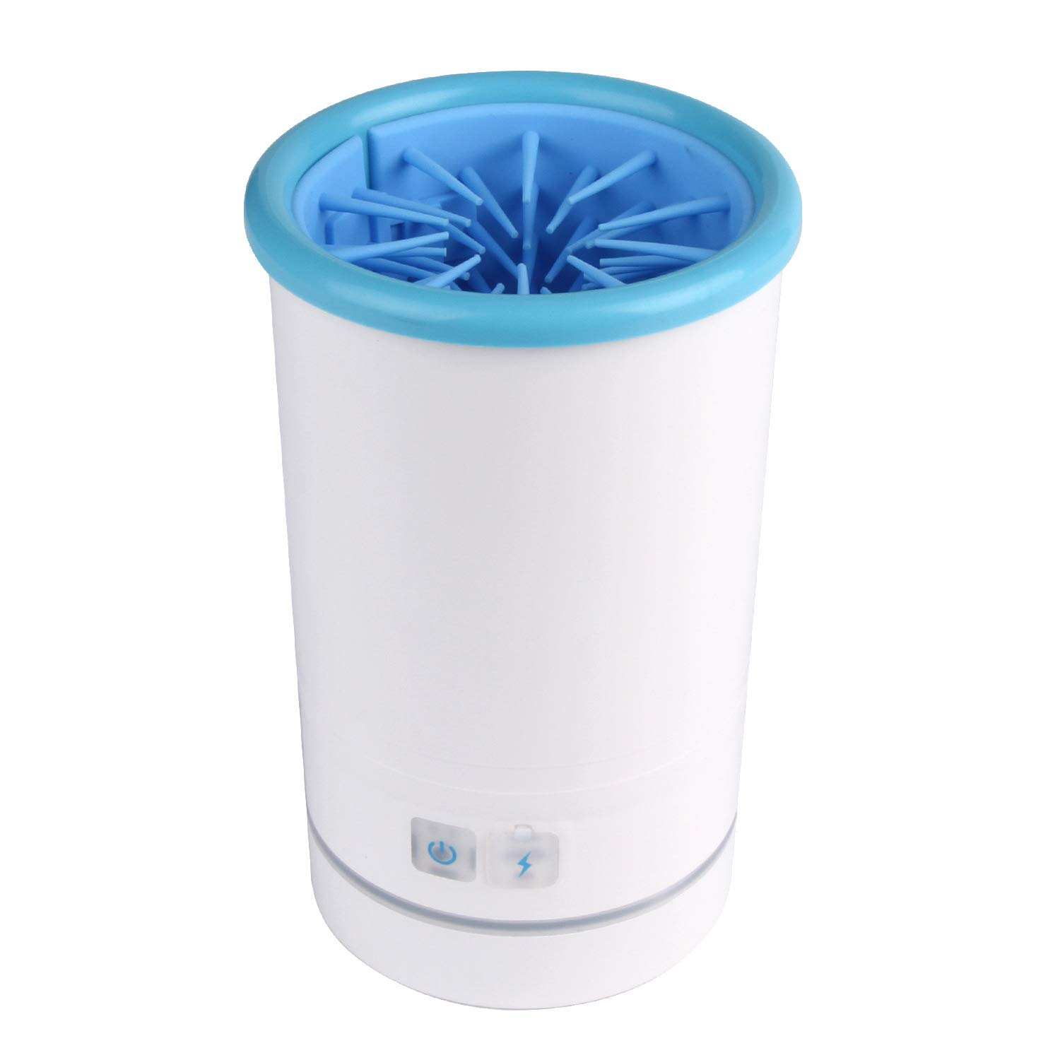 Jinitaimei Pet Cleaner,Soft Silicone Portable Automatic Pet Foot Cleaner Suitable for Cats and Dogs,M