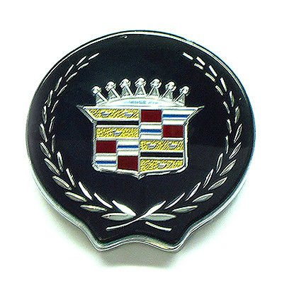 The Parts Place OEM Cadillac Trunk Lock Emblem Cover