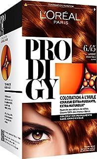 loral paris prodigy coloration permanente lhuile sans ammoniaque 645 - Coloration Temporaire L Oreal