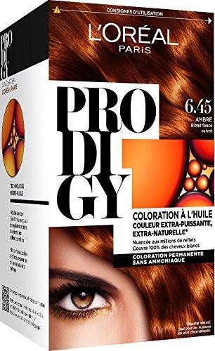 Loréal Paris Prodigy Coloration Permanente à Lhuile Sans