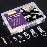 Swpeet 415Pcs Picture Hangers Kit with