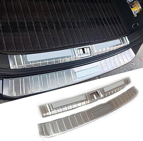 HIGH FLYING f/ür Passat B8 Limousine 2015-2018 Kofferraum Ladekantenschutz Edelstahl Nicht f/ür die Passat Variant Exterieur and Interieur 2 Pcs