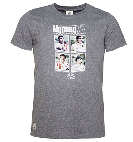 CHUNK T-Shirt MONACO77, grey, James Bond 007 Nick Nack Beisser championship
