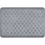 WellnessMats ET32WMRWGRY Estates Collection Anti-Fatigue Kitchen Mat, 3 x 2 Foot, Beach Glass