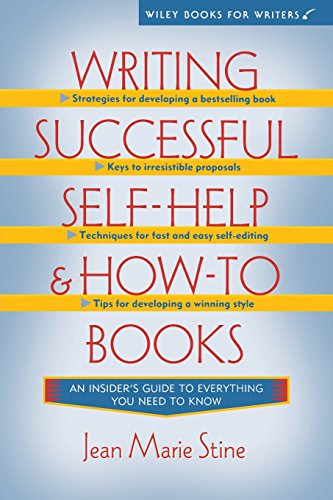 Writing Successful Self-Help and How-To Books (WILEY BOOKS FOR WRITERS SERIES)