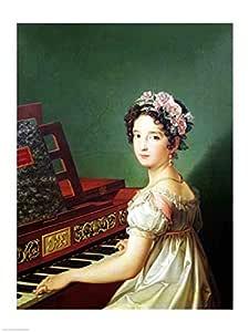 Diego Velazquez - La hija del artista en el clavicordio