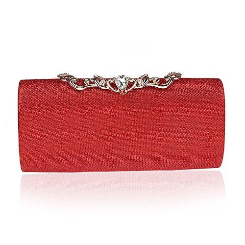OuYee pour femme OuYee Pochette Pochette Rouge pour OuYee Pochette Rouge femme EEBnq4wr6