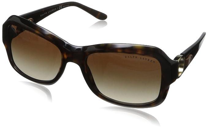 Ralph Lauren 0Rl8107Q Gafas de sol, Dark Havana, 55 para ...