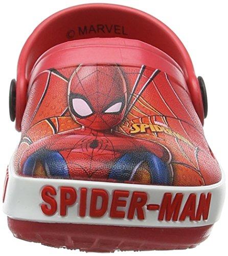 Marvel S19196/Az, Zuecos Para Niños Rojo
